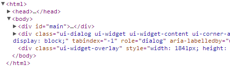 Prevent Page behind JQuery UI Dialog from Scrolling