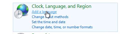 Azure VM Add Language